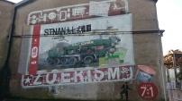 Fresque murale rue de la Tour d'Auvergne à Nantes