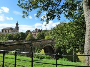 Vue de la Cathédrale Saint Mungo de Glasgow, Ecosse
