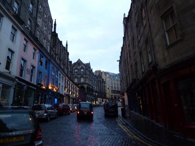 Rue d'Edimbourg, centre historique