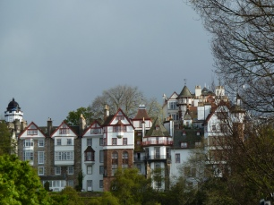 Façades de maisons, Edimbourg