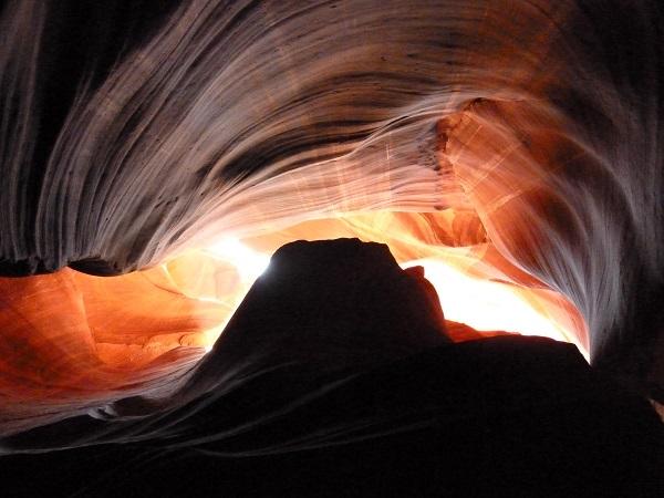 Jeux de lumière, Antelope canyon, Arizona, USA