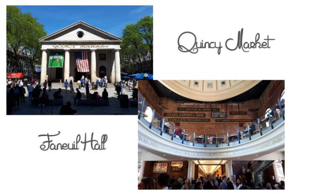 Quincy market et Faneuil hall